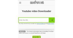 Pega la URL