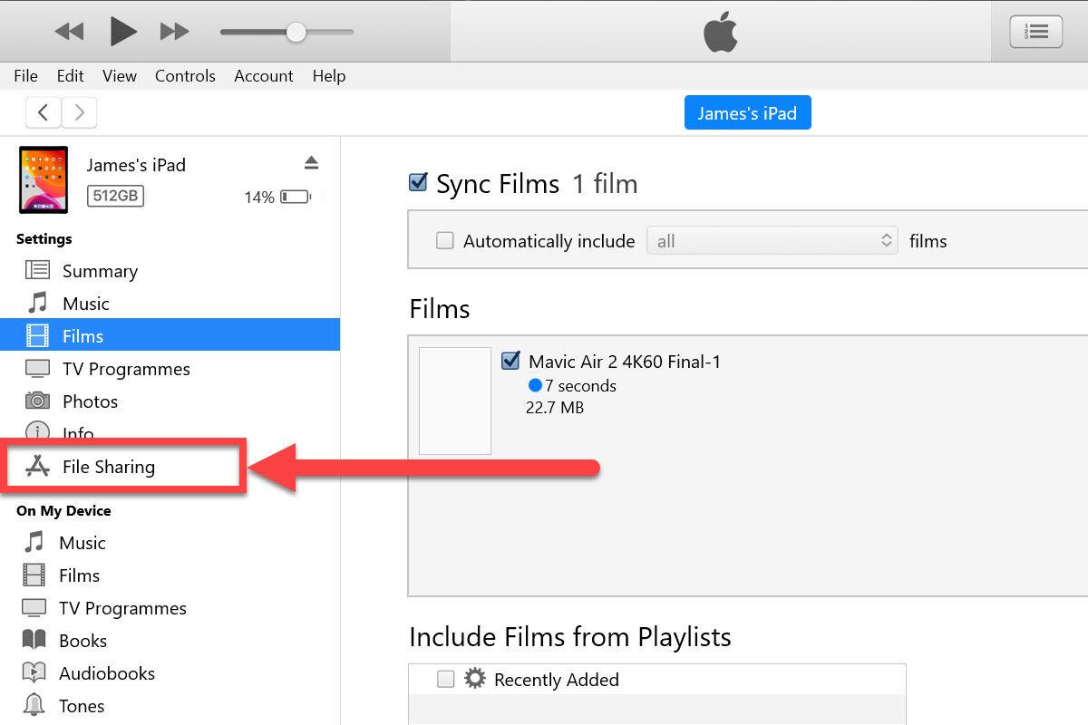 Cómo copiar videos de PC a iPad y iPhone